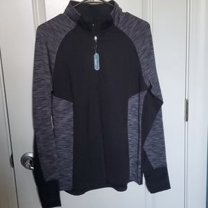NWT- Danskin long sleeve pullover- size L